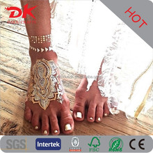 Wholesale Summer hot Gold Gripping Temporary body jewelry tattoo