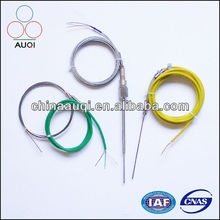 Thermocouple Sensor With Wire PT100 T J E K N S R BType
