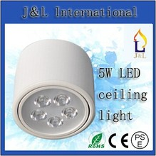 Embeded Install Style 5w led office down ceiling light