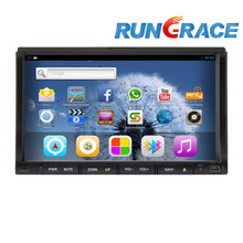 7 inch touch screen car dvd player android 4.2.2 with 3G wifi