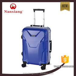 competitive price,carry-on type,,aircraft wheels,ABS+PC aluminum frame hardside trolley luggage bag