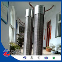 wedge wire slot mesh stainless steel filter screen roll