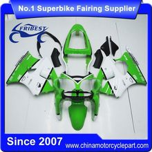 FFKKA003 Fairing Kit For Kawasaki ZX 6R ZX6R 636 2000 2001 2002 Green White