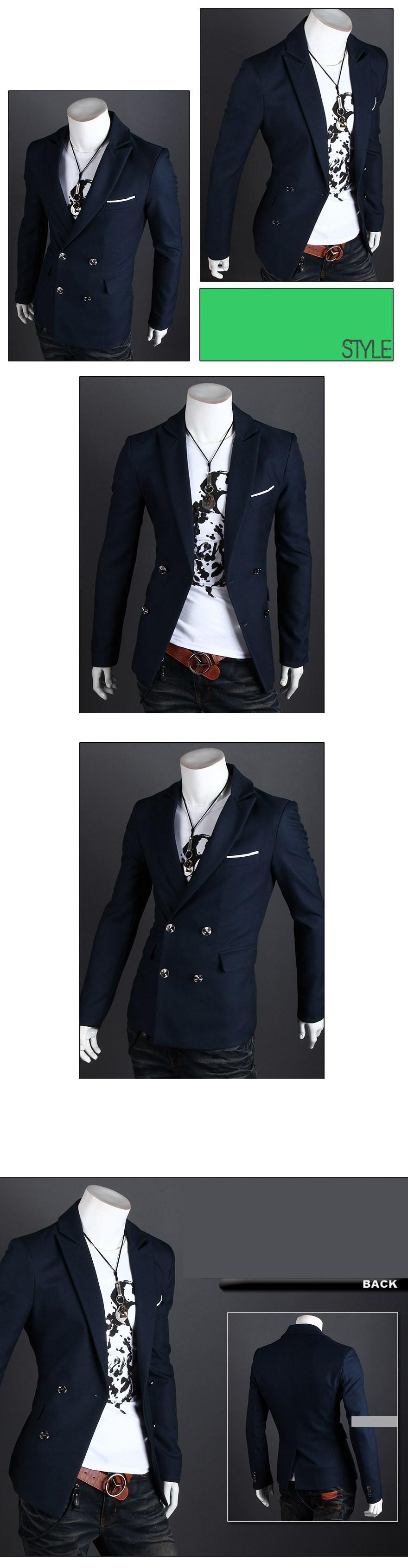 s! новый костюм джентльмен внешней торговли, тонкий двубортный костюм, корейских мужчин случайный костюм jacket.xi15a 8602