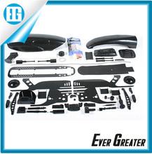 High Quality Customized china Plastic components Automotive Parts plastic injection mould black plastic parts