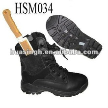 composite toe cap Marine Corps military combat boots with knife sheath