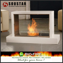 Electric fireplace wall mounted cast iron outdoor fireplace customized