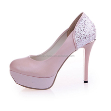 ladies high heel shoes fashion wedding dress woman shoe