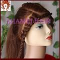 2015 nuevos productos saludables de encaje #3 hacer crecer el cabello para el cabello eurasian peluca llena del cordón