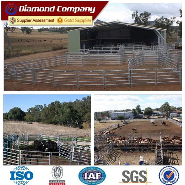 cheap australia new zealand heavy duty portable cattle