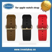 Hoco brand high quality hot selling real leather watch bands for apple watch strap accessory