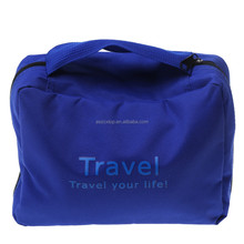 2015 Hot sale wholesale bulk women mens foldable hanging travel toiletry bag