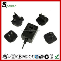 High efficiency 12v 3a 3000ma ac adapter 36w with EU plug