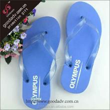 2015 Guangzhou hot sale new design summer eva flip flops cheap wholesale pvc strap flip flops