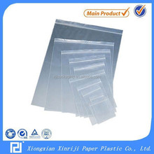 HOT SALE! LDPE Plastic Self Seal Zip Lock Bag