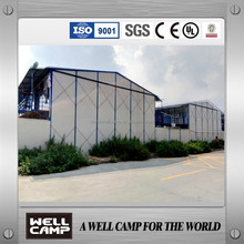 WELLCAMP 20000 square meters labour camp project prefabricated house K type