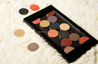 Professional mineral ingredient lovely rose color eyeshadow for dispaly case palette with multi-color available