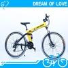 Competitive prices Import Aluminum Alloy 26er folding MTB sports bike