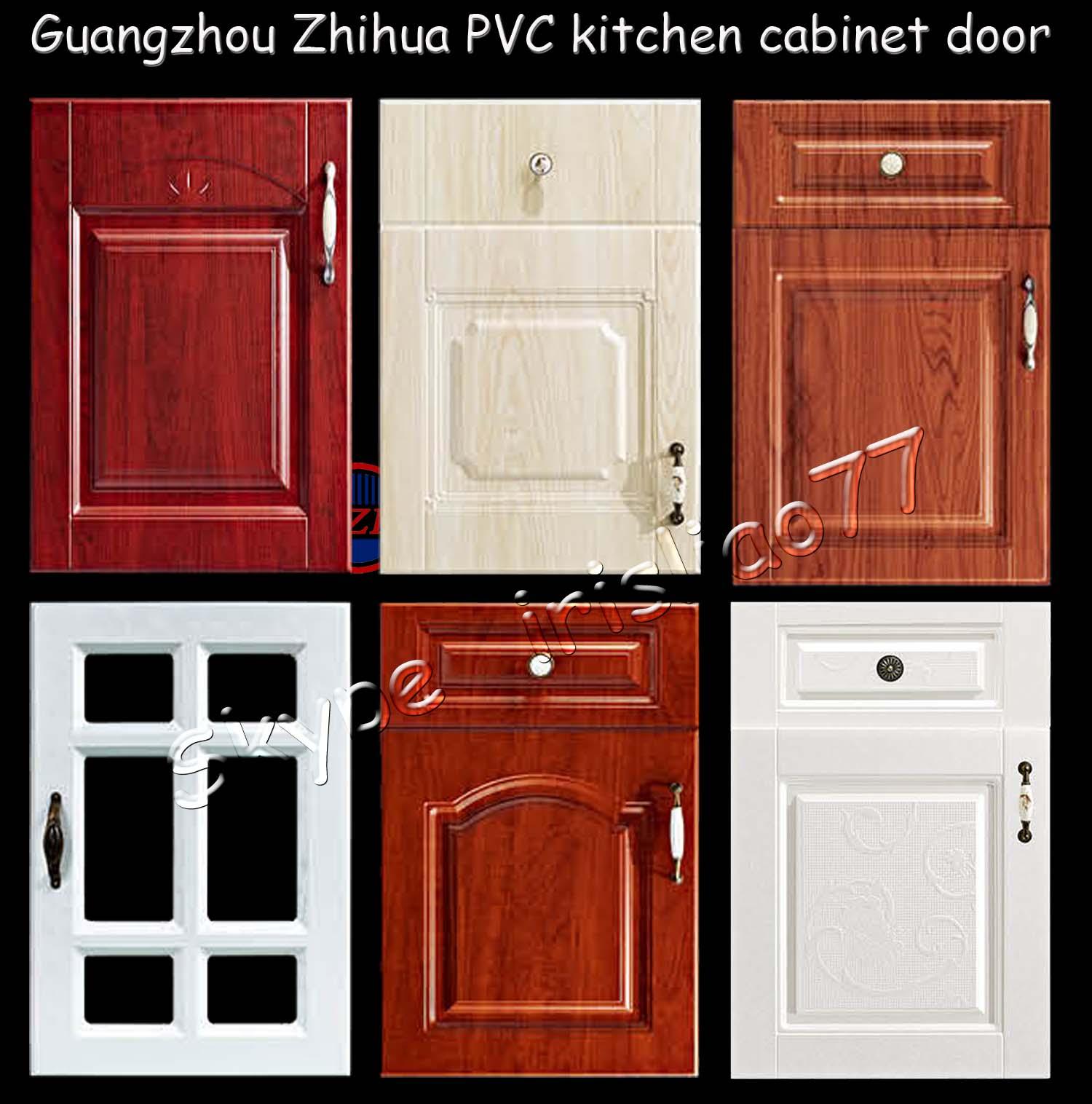 Zhihuv pvc gabinete de cocina puerta armarios gabinetes for Puertas para cocina