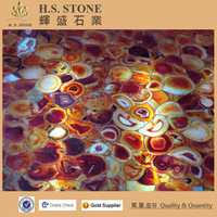 Red agate marble tile Interior hotel decoration