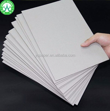 Stiff 2mm gray cardboard paper for book file pressed board sheet