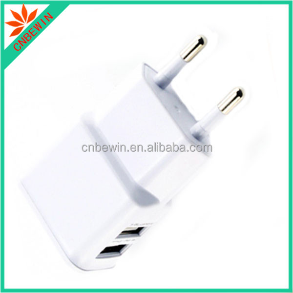 In stock 4 usb quad charger with 1 port