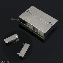 Fashion jewelry components top quality zinc alloy material magnetic jewelry clasp