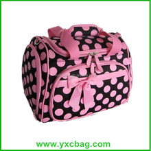 Personalize Pink Cosmetic Organizer Travel Case for Women
