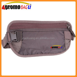 Hot sale Elastic sport running Money belt waist bag
