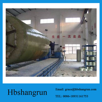 CNC control Production line of Fiberglass septic tank