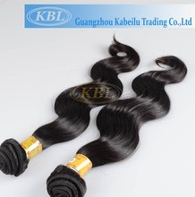 KBL Hair Double Wefts Dyeable 100% Virgin Peruvian Hair