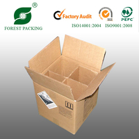 2014 NEWEST ECO-FRIENDLY WHOLESALE WINE BOTTLE SHIPPING BOXES