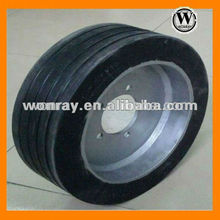 excellent 3.20-8 used solid trailer tires in airport