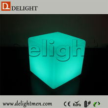 Top Sale Colourful lighting waterproof multi-color rechargeable led ice cube with led for living room