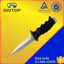 ABS Handle Serrated Top Edge Sword 420 Stainless Steel Knife Set