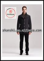 2015 fashion cool new arrival lapels oversized maxi men's wool winter coats