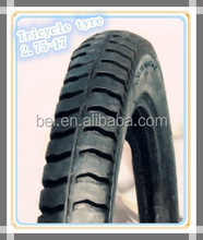 Three wheel motorcycle tire from China for Brazil 275-17 4pr/6pr/8pr