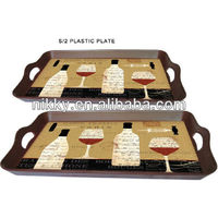 2013 Cheap wholesale .Cold and hot food serving plate & western food plate