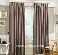 Flame Retardant Blackout Stripe Hotel Curtains/ Drapery window curtains