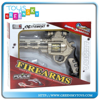 flash space gun and cap gun toy cap pistol