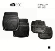 4 Pieces Anti Slip Classic Rubber Car Mats