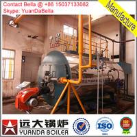oil/gas steam commercial boiler price
