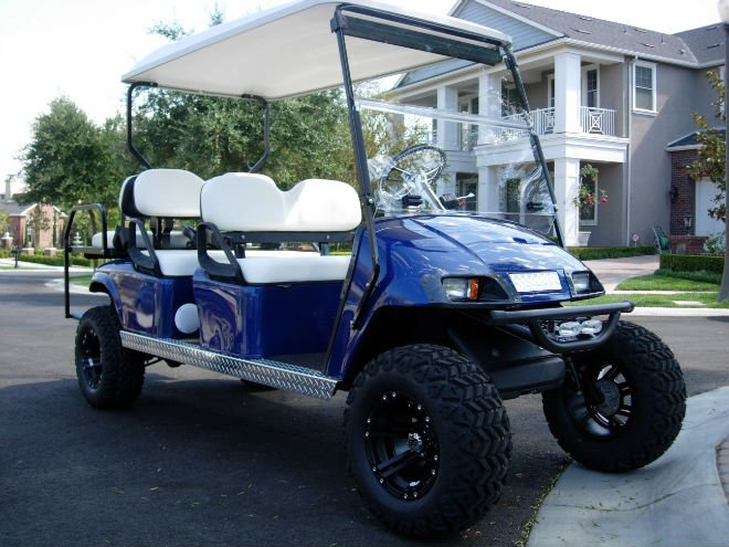 Plans On Stretching A Golf Cart Into A Limo Buy Golf
