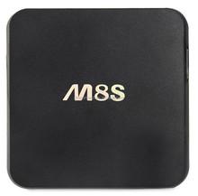 V M8S Oem Amlogic S812 2.0Ghz Ultra Hd 4K 3D Blu-Ray Player Google Android 4.4 M8S Amlogic S812
