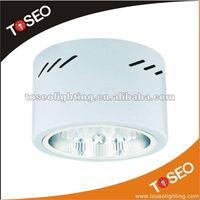 CFL surface mounted round g24 lamp holders