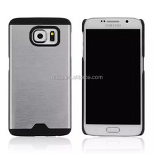 Top selling Metal Combo case for samsung galaxy s6 edge G9250,Hardware Combo style back cover case