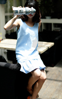 Very soft Fashion fashion designer Kaftan Dress