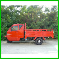 Wholesale Popular Hot Selling 250CC Red Taxi Passenger Tricycles With Cabin
