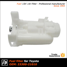 white color high quality cheap price fuel filter, plastic and long-life,China professional filter supplier since 1993