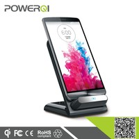 Qi Wireless Charger Charging Mount Cradle Stand for Qi-Enabled Phones and Tablets